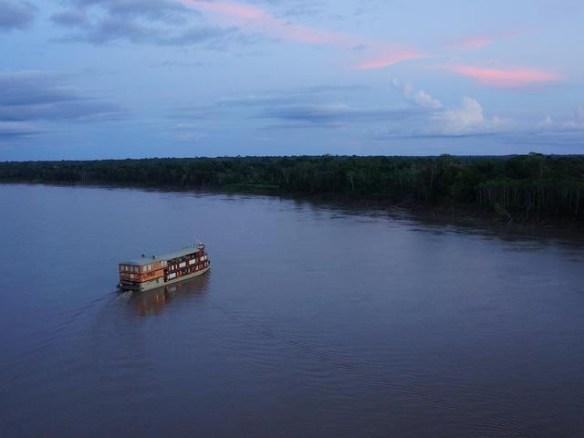 WWF Amazon River Cruise Delfin Exterior