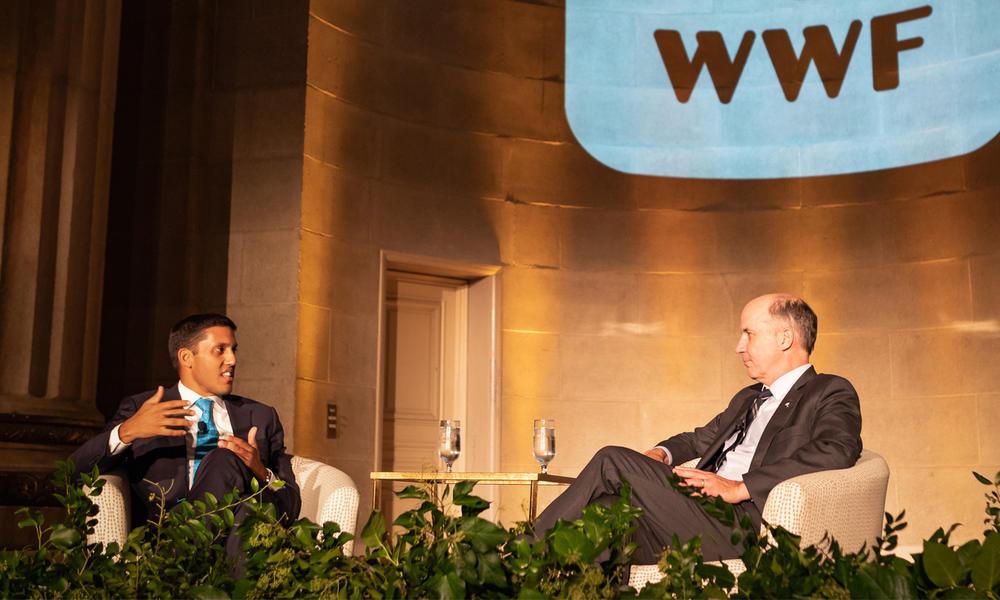 Carter Roberts and Dr. Rajiv Shah