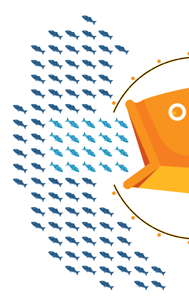 20% of the fish harvested from the ocean are used to feed farmed fish