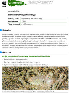 Wild Classroom Biodiversity STEM Activity Preview Page