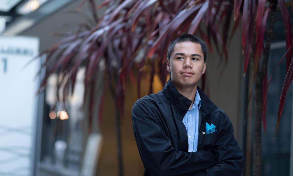 Portrait of WWF Arctic Youth Ambassador.