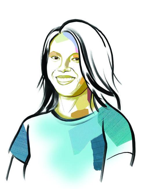 illustrated portrait of Vatosoa Rakotondrazafy Andriamampandry