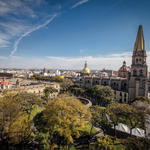 Mexico city scene