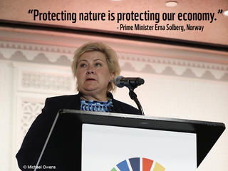 Erna Solberg at UNGA