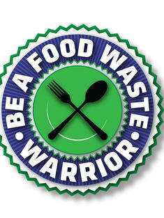 WWF's Food Waste Warrior Logo