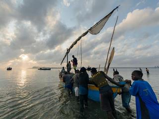 Fishermen in Palma, Mozambique
