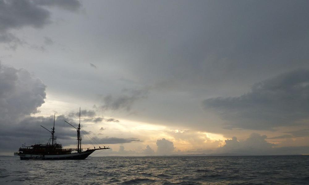 Ship in Horizon