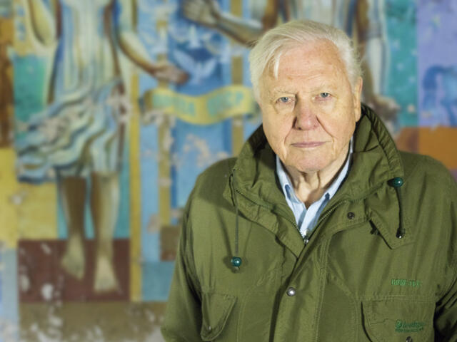 Sir David Attenborough at Chernobyl