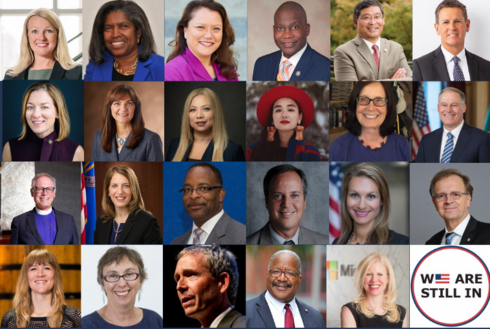 Portraits of people in the Leaders Circle