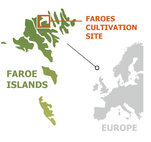 Map of Faroes