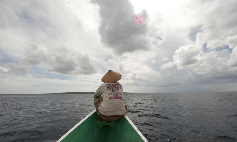 Fishing for skipjack tuna in Indonesia