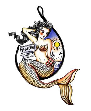 Seafood Ninja Logo