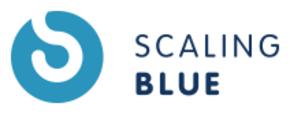 Scaling Blue Logo