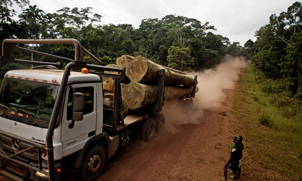 New roads in Gabon