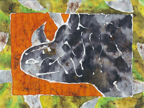 rhino batik