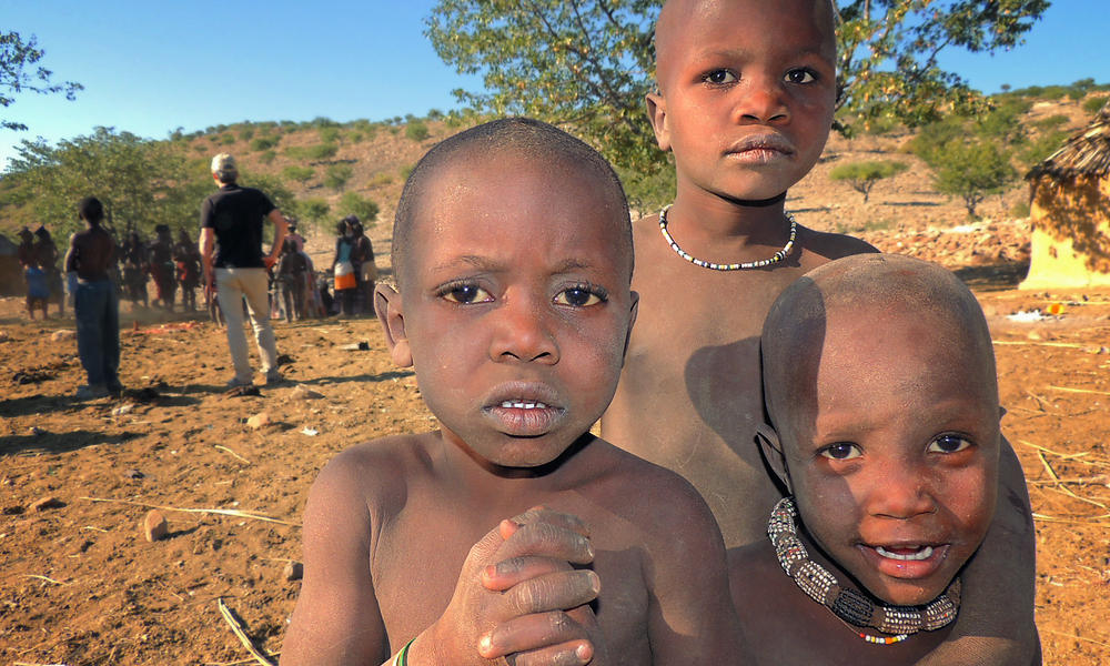 children in Namibia