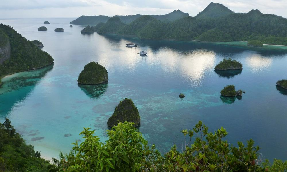 rock islands of Raja Ampat