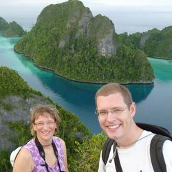 Sybille and bill in raja ampat places index