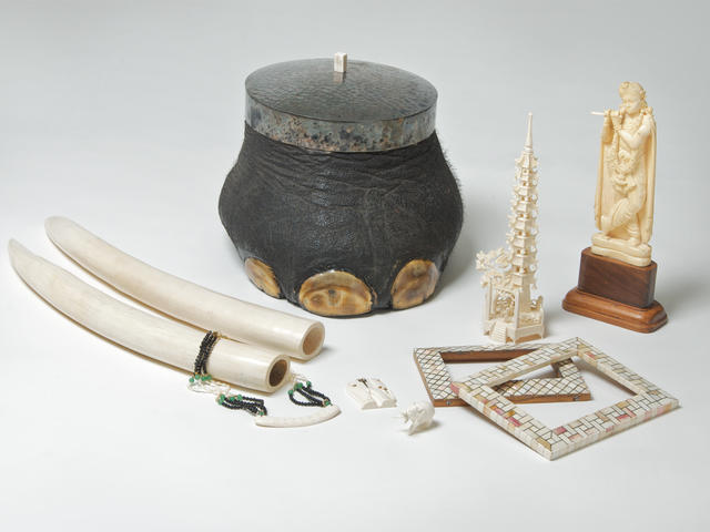Objects made from ivory