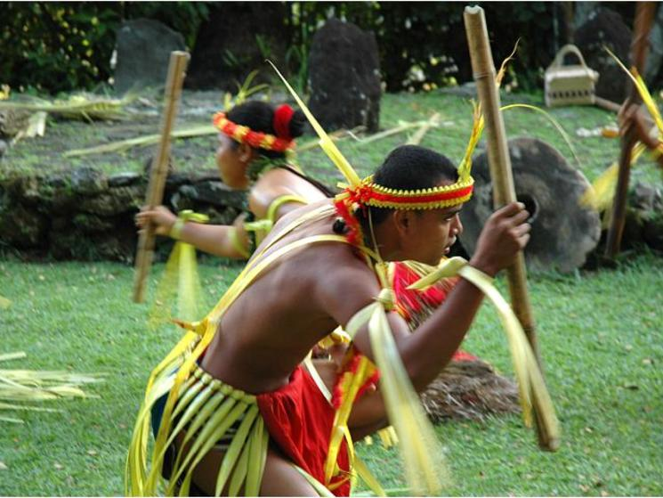 Yap dancers