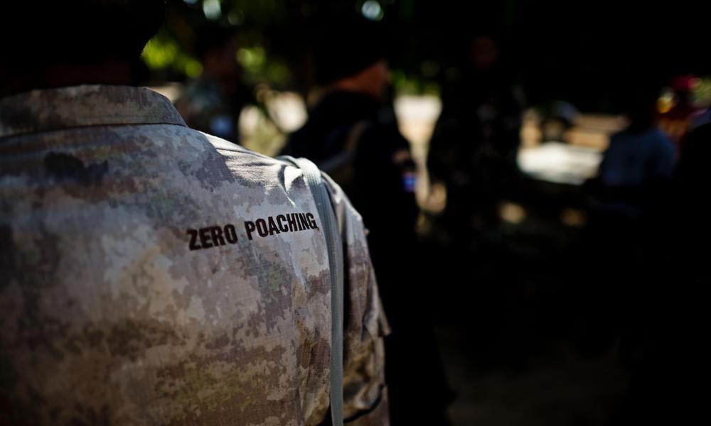 Zero poaching ranger