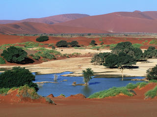 sand dunes Namibia travel