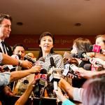 Thai prime minister announcing ivory ban