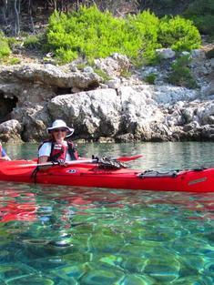 Mjilet Croatia kayak
