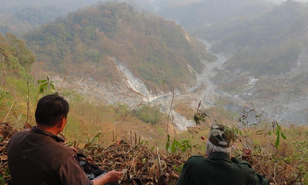 Overlooking Diomari
