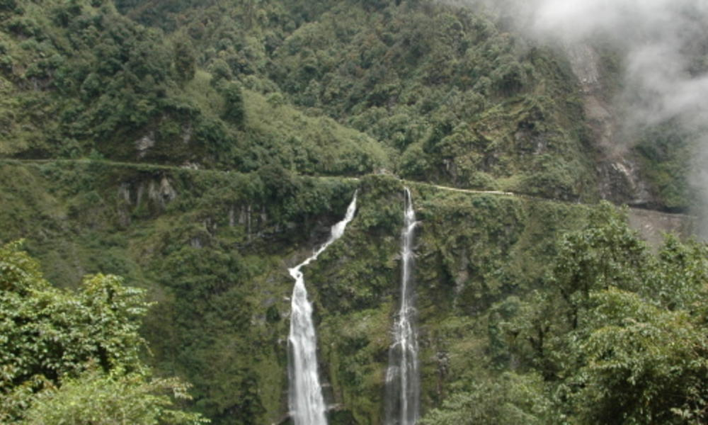 waterfalls in bhutan