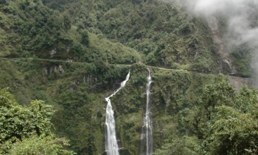waterfalls in bhutan