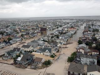 Hurricane Sandy Damage along the New Jersey coast, 30 October 2012.