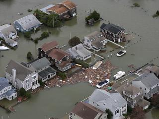 Hurricane Sandy damage in Seaside, N.J. on Tuesday, Oct. 30, 2012.