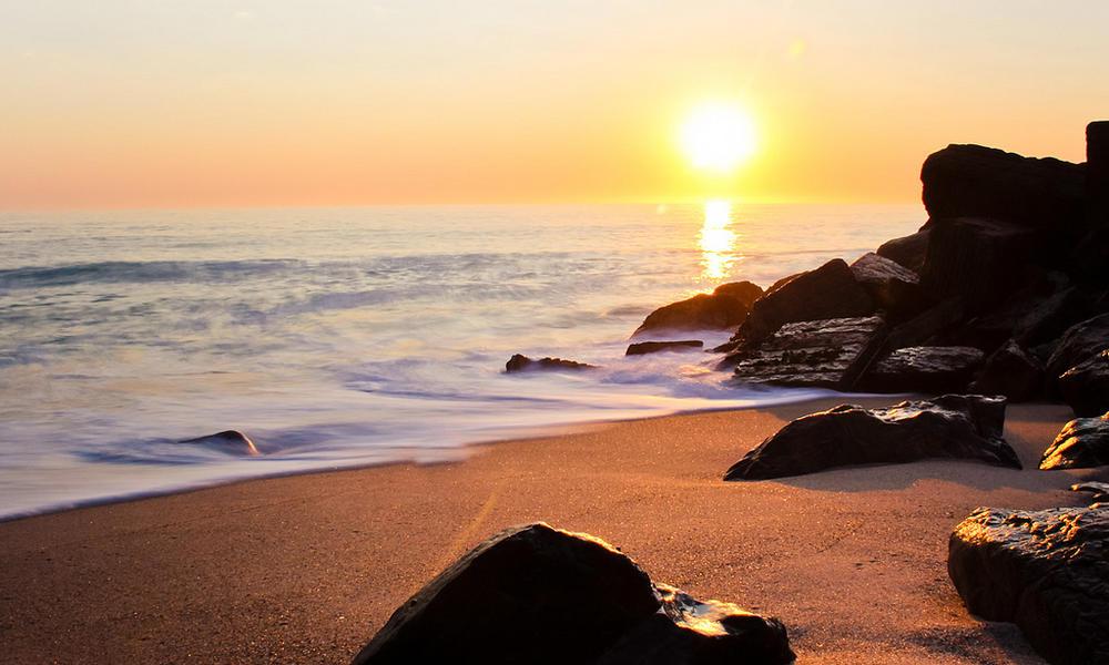 beach in namibia