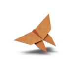 Origami Monarch