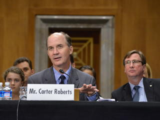 Carter testifies before Senate