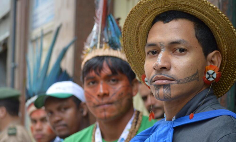 Wyd indigenous youth photo