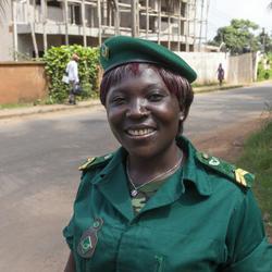 Mary Ashu, ranger in Cameroon