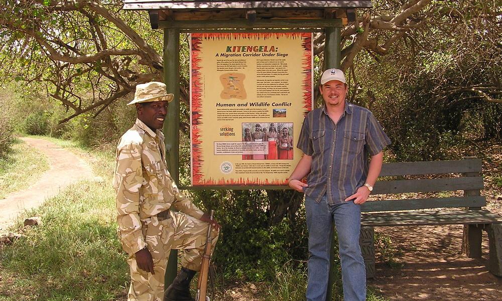 Kws ranger nairobi national park