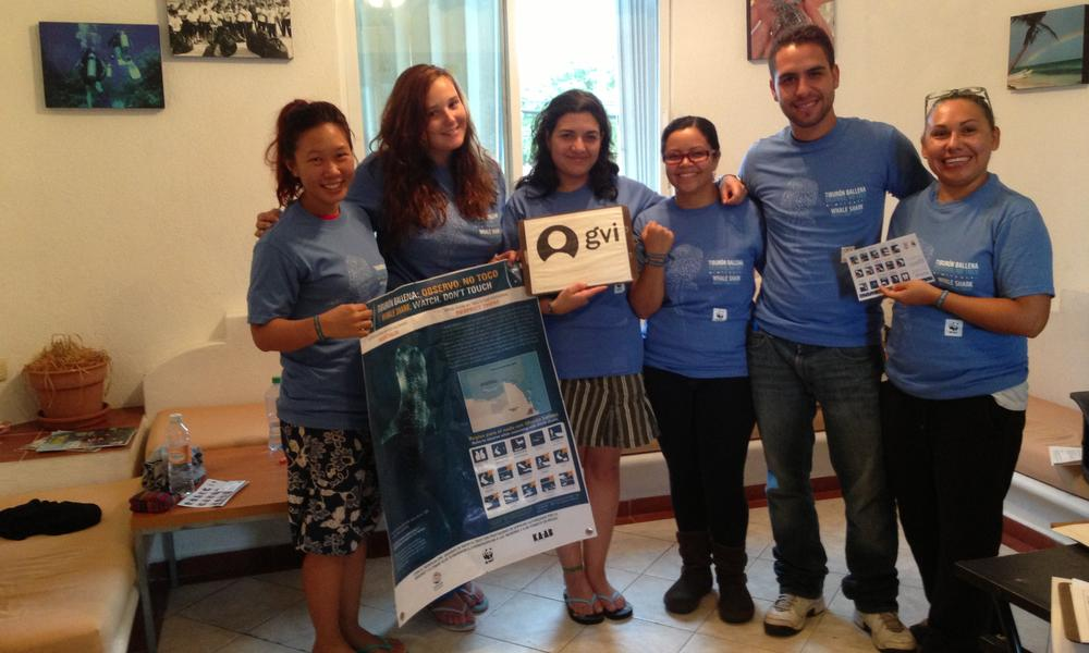 Whale Shark Campaign in Mexico - volunteers