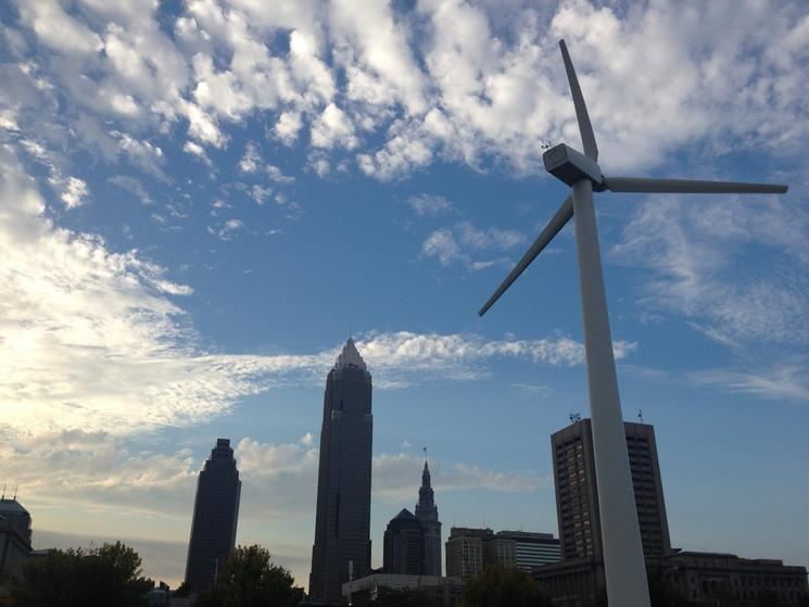 Cleveland wind