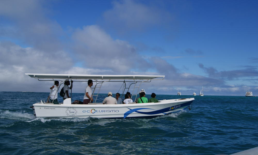 WWF develops a solar-powered boat for the Galápagos | Stories | WWF