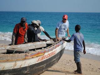 WWF's Brendan Fisher on Njovo Island, Mozambique, Primeiras and Segundas