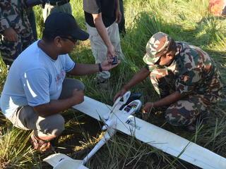 nepal UAV