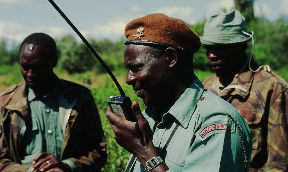 rangers in Tanzania