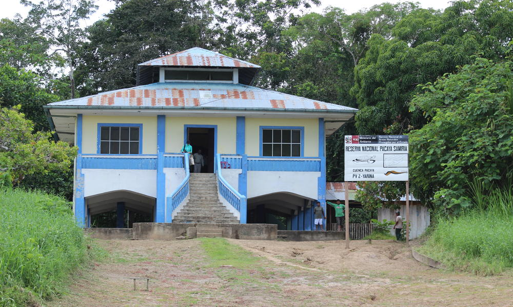 ranger station at pacaya samiria
