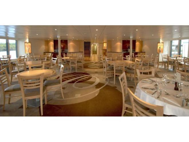 Oceanic Discoverer dining room ship TRAVEL ONLY