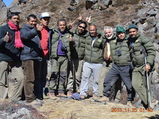 Snow leopard collaring team, Nepal