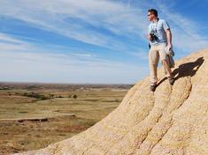 WWF staff surveying landscape