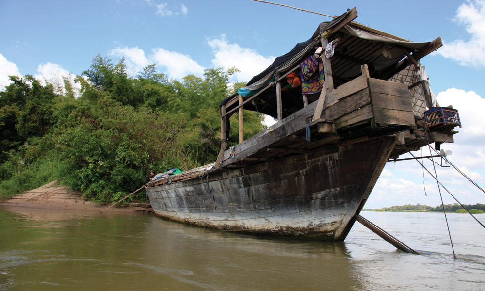 boat in greater mekong